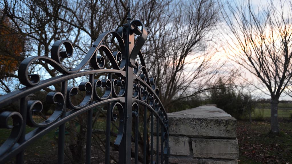 Portail et portillon en fer forgé
