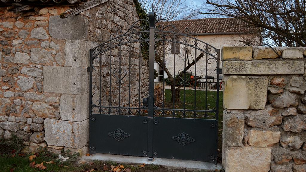 Portail et portillon en fer forgé - Rémi BOUILLOUX
