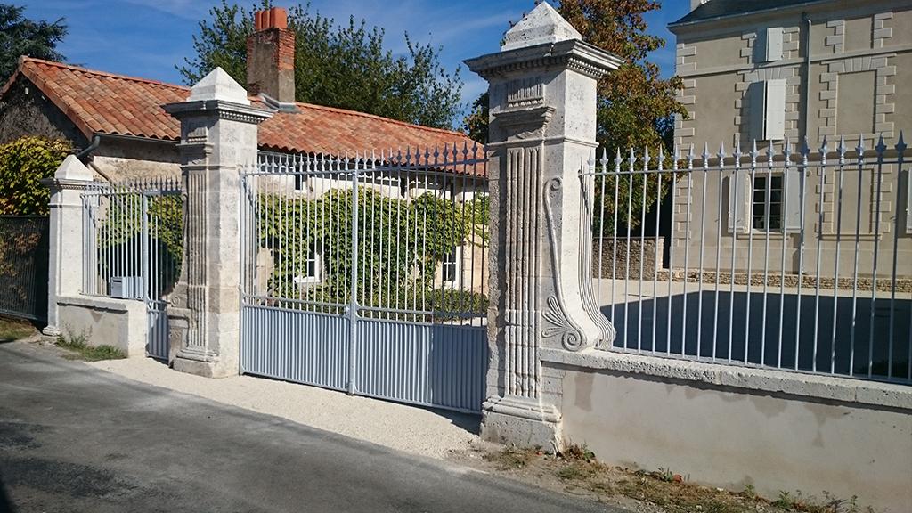 Restauration portail du 19e